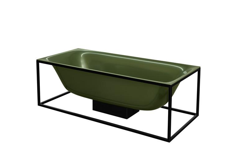 vasca BetteLux Shape nella nuova variante Forest