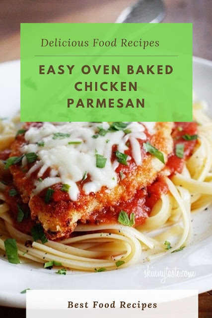 #Easy #Oven #Baked #Chicken #Parmesan
