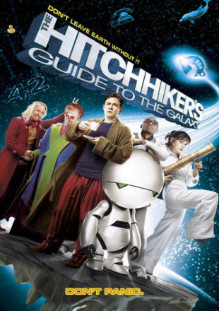 The Hitchhiker's Guide to the Galaxy 2005 Dual Audio Hindi BluRay 480p x264 ESubs