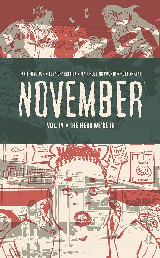 Cover of November Vol 4 HC