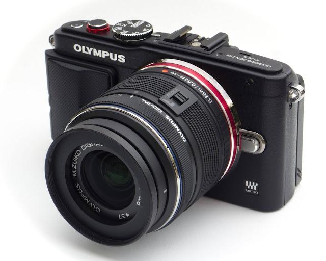 Olympus PEN E-PL6 : 16.1 MP (6 Jutaan)