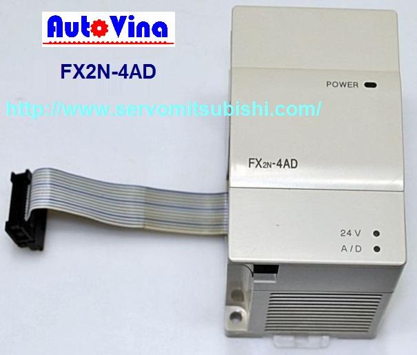 Module chuyển đối tín hiệu analog ngõ vào cho PLC Mitsubishi FX2N-2DA