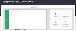 penghitung kata, word count