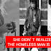 Photographer Captures  A Photo Of A Beggar then Realizes That it's Her Father