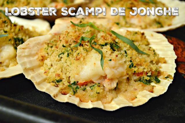 lobster, shrimp, scampi, clam shell