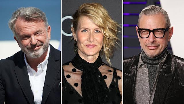 """Jurassic World 3"": Sam Neill, Laura Dern y Jeff Goldblum regresarán a la saga"