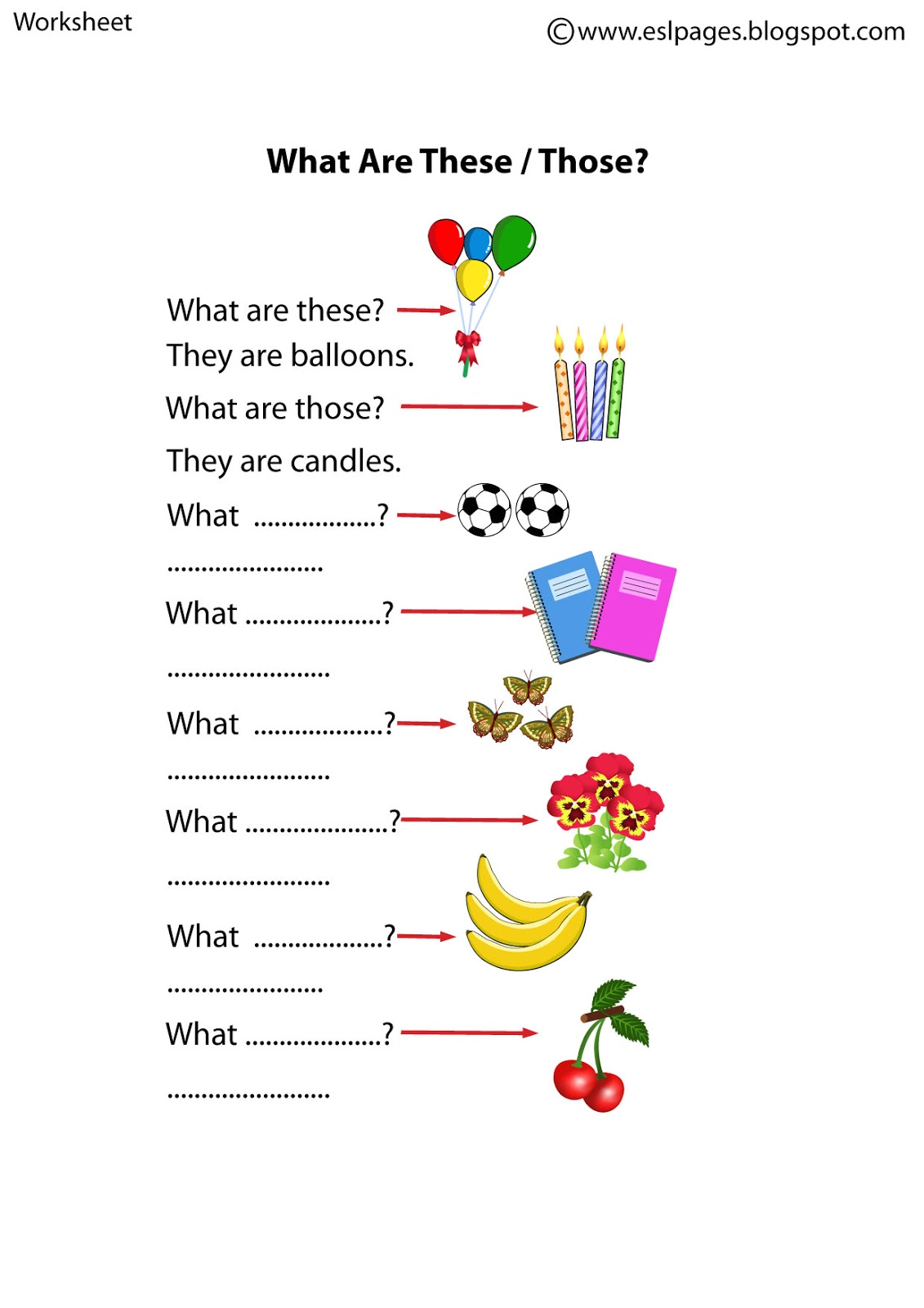 Learning2beateacher Teaching This That Those These