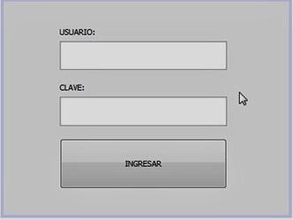 Login, Formulario de acceso, Usuario, Contraseña, JAVA, Seguridad, Ingresar al sistema, Password