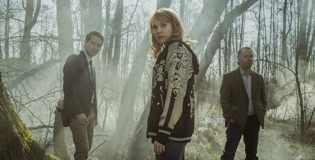 Protagonistas de la serie sueca 'Jordskott'