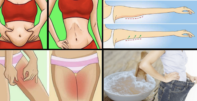 3 Methods To Get Rid of Belly, Thigh, Arm and Back Fat With Baking Soda