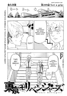 Update! Baca Manga Tokyo Revengers Chapter 209 Full Sub Indo