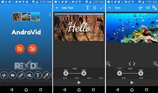 aplikasi pemotong video AndroVid