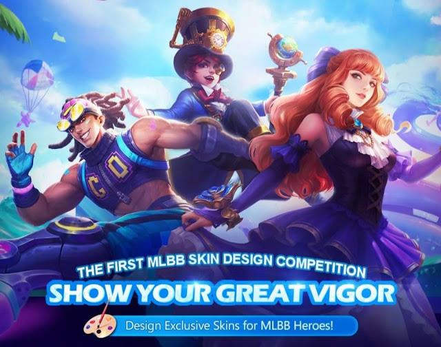 Kompetisi Desain Skin Mobile Legend Pertama 2019