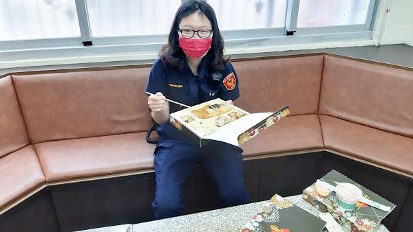 慰勞溪湖分局基層員警防疫辛勞  署長陳家欽貼心加菜