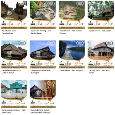 Api 2018 Wisata Kampung Adat Terpopuler di Indonesia