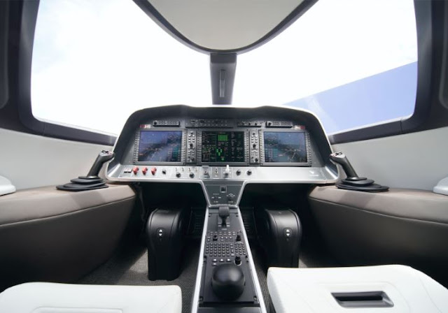 Eviation Alice cockpit