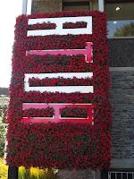 Atua living wall, Festival of Flowers - Christchurch Botanic Gardens, New Zealand