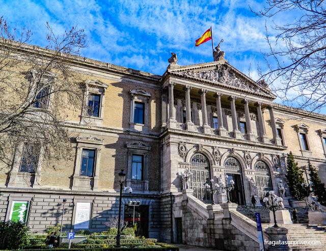 Biblioteca Nacional, Madri, Espanha