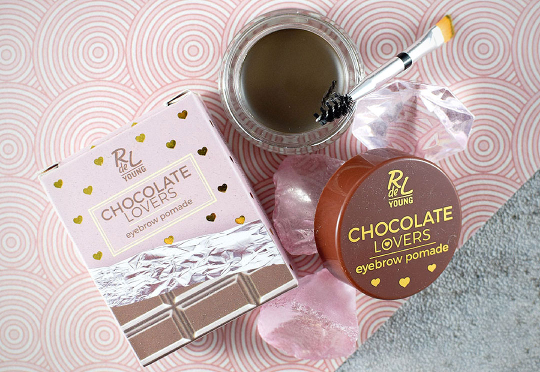 Chocolate Lovers LE, RdeL Young, Swatch, Eyebrow Pomade