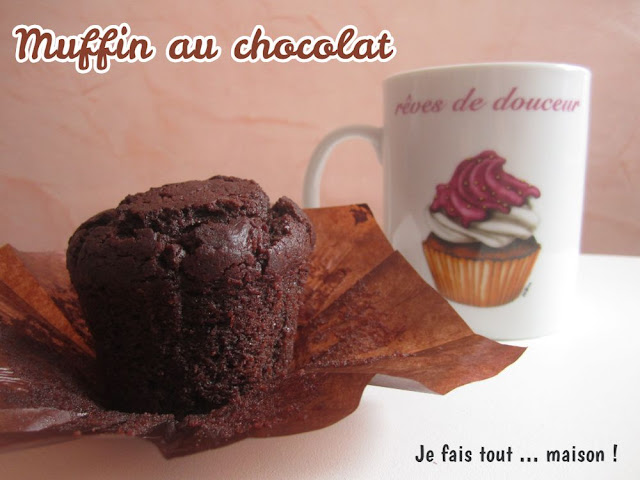 Muffins au chocolat atomiques