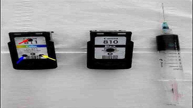 Cara Mengisi Tinta Warna Printer Canon IP2770