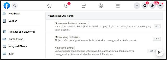 fitur keamanan facebook