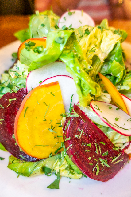 Beet Salad - Prohibition Kitchen - St Augustine FL