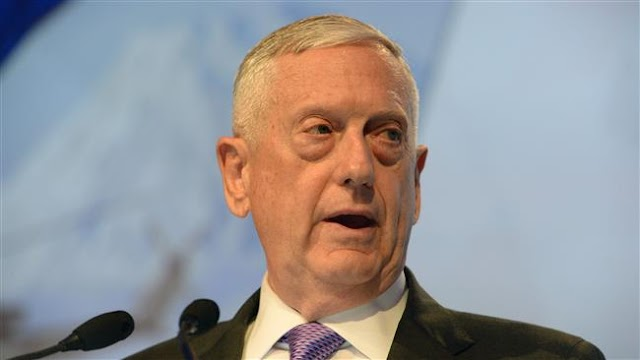 US Defense Secretary James Mattis on surprise visit to Iraq