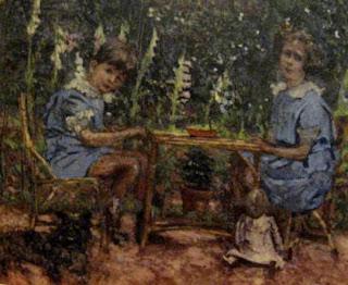 Camillo e Lelia Caetani in un dipinto di Vuillard