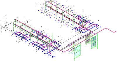 Download A Collection of Revit MEP Projects for HVAC, Plumbing, Firefighting and Electrical Design for Free.