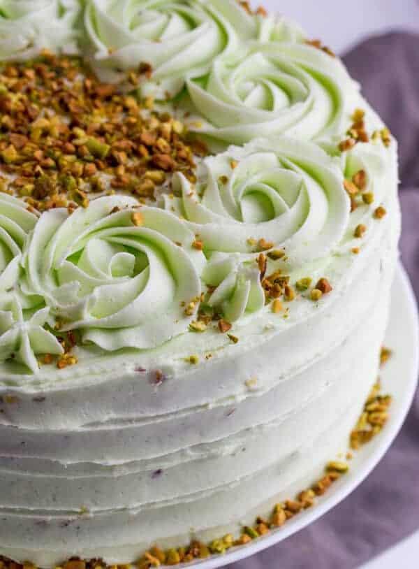 Vanilla Bean Pistachio Cake