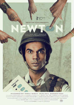 Newton 2017 HDRip 300MB Hindi Movie 480p Watch Online Free bolly4u