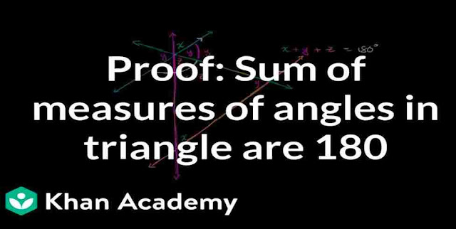 What is the sum of all angles in a Triangle?