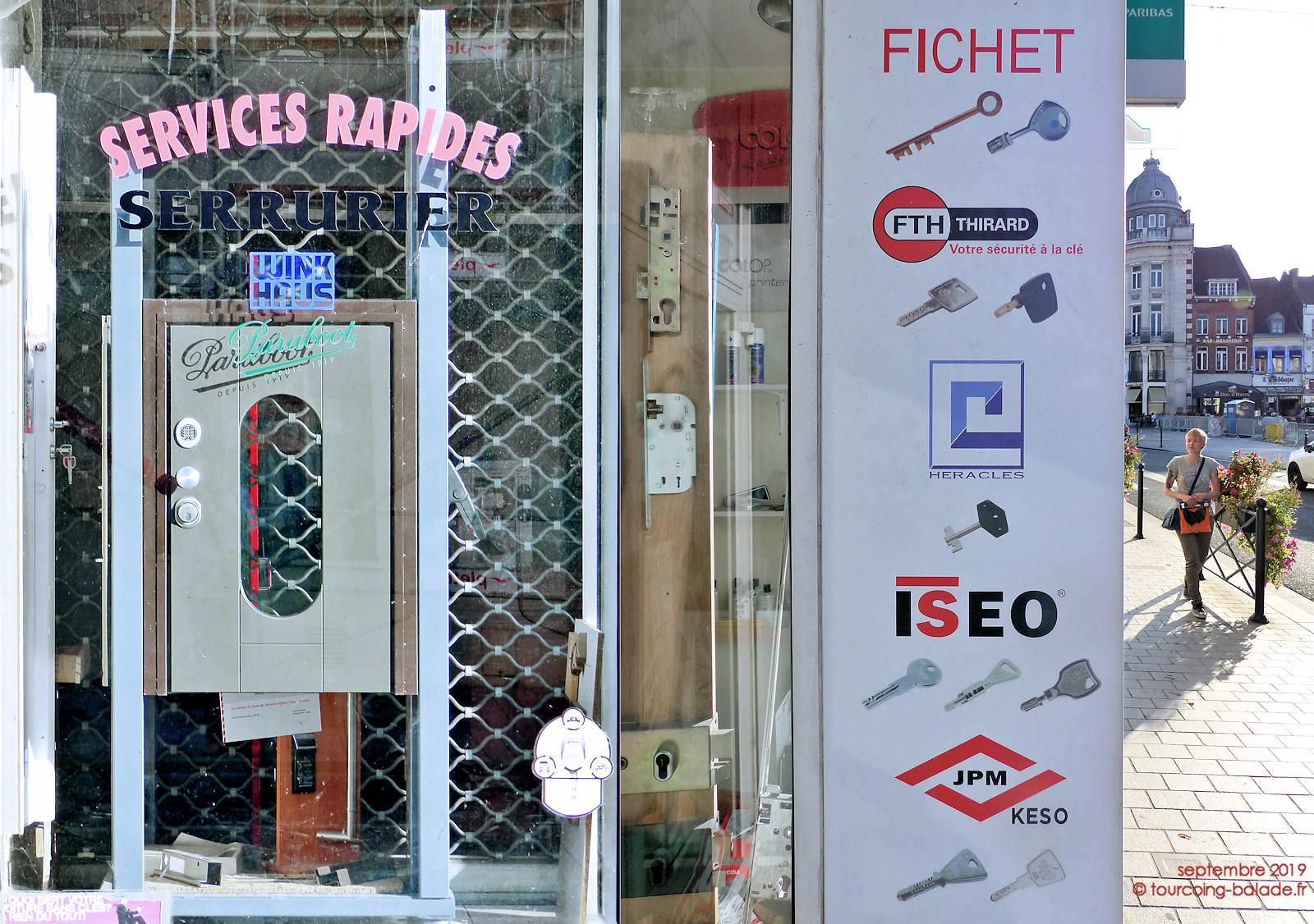 Les 3 Places - Serrurier Cordonnier, Tourcoing.