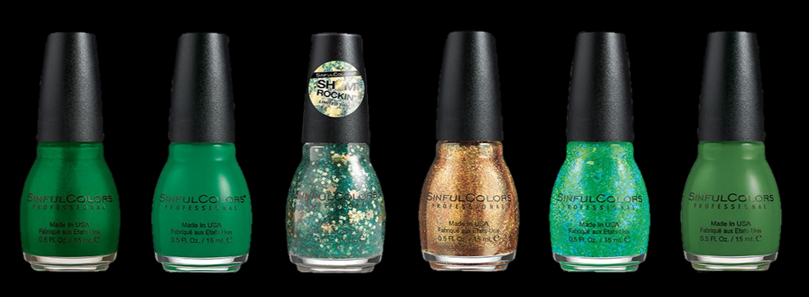 Small 4 Style: Feeling Lucky: SinfulColors St. Patrick\'s Day Nail ...