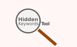 Tool Hidden Keywords for Blog Seo Online Free