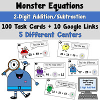 Addition and Subtraction 2 Digit Numbers