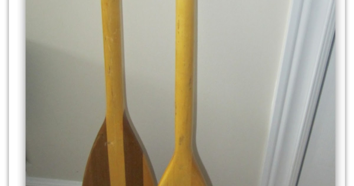2perfection Decor Using Oars As Wall Decor
