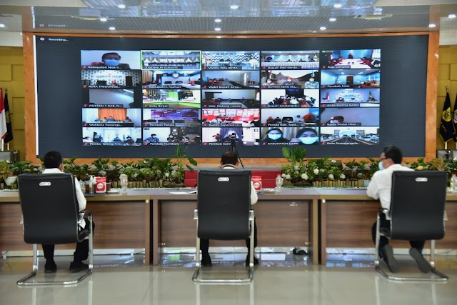 Gubernur : OPD Harus Cari Cara Tingkatkan Produktivitas Pangan