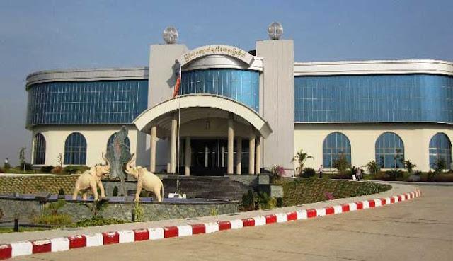 Museum dan Pasar Permata Myanmar