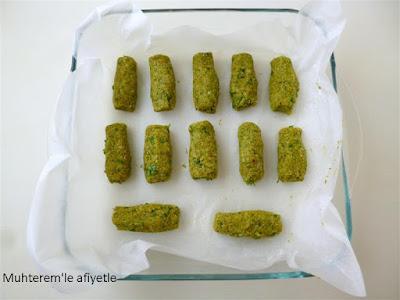 Brokoli Kroket nasıl yapılır resimli anlatım