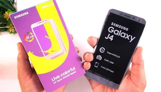 Kelebihan dan Kekurangan HP Samsung Galaxy J4 2018, Harga HP Samsung Galaxy J4 2018 Lengkap Dengan Spesifikasi