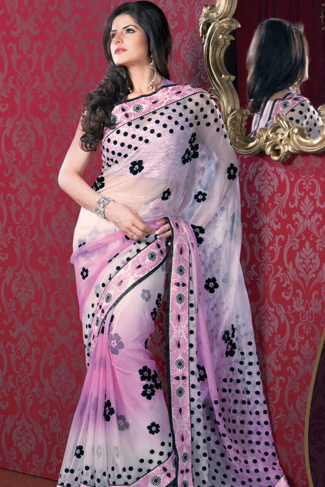 2013 Home Party & Casual Wear Saree ~ Fashion Point