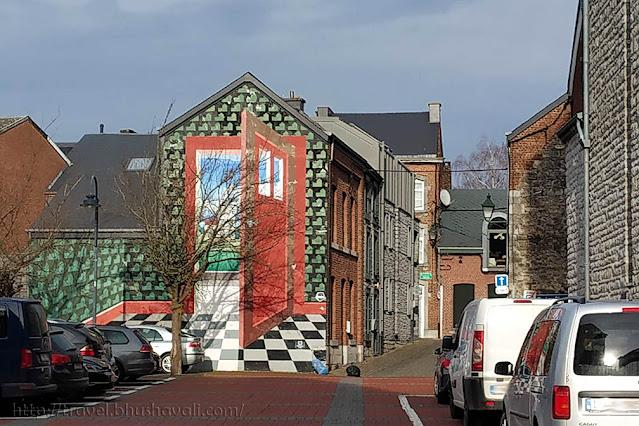 Street art Belgium Porte Ouverte Marche-en-Famenne