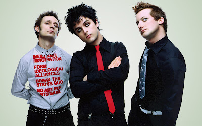 Green Day Band Picture