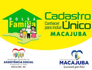 Bolsa Família 2021 de Macajuba