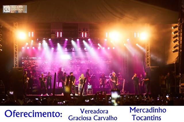 Fotos Show de Xand e a banda Aviões do Forró e da cantora Márcia Fellipe em Valença do Piauí.
