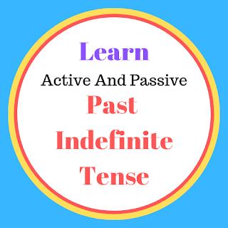 मैं आपको हिन्दी माध्यम से active and passive voice बनाना सीखाऊँगा, इस post को पढ़ने के बाद आपके लिए Active voice से Passive बनानां बहुत आसान हो जाएगा...