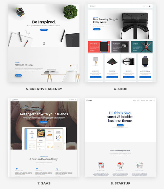 Navy - Wordpress Template