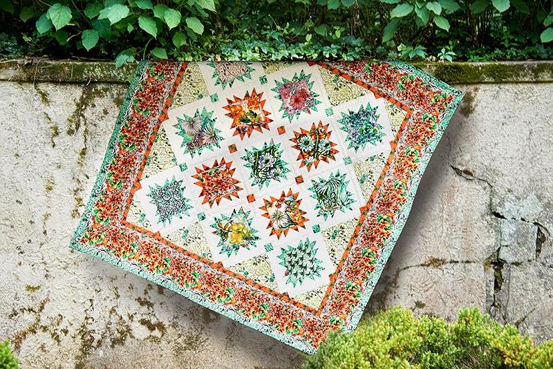 FreeSpirit Fabric: Cottage Garden Quilt Pattern